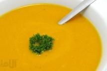 طرز تهیه سوپ هویج با پرتقال و زنجبیل