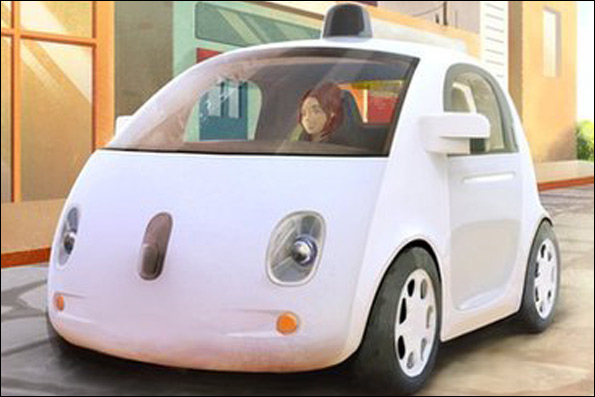 خودرو گوگل