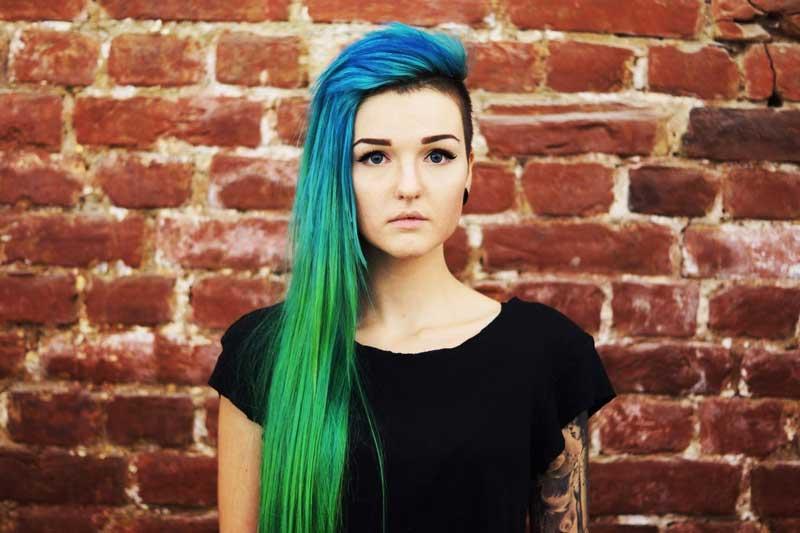 رنگ کردن موهای بلند long-hair-dying