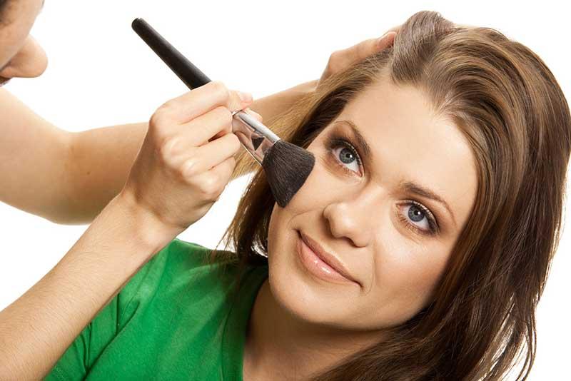 ترتیب آرایش صورت makeup-application