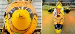 هواپیمای برزیل برای جام جهانی/عکس