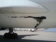 تصادف اتوبوس با هواپیمای ایرباس 310+عکس