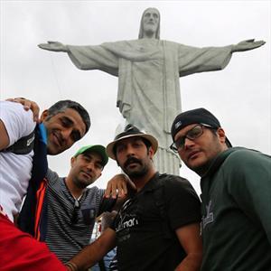 هنرمندان در برزیل