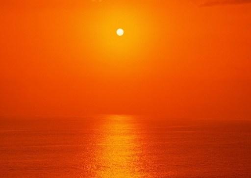 ஜ ஜ رئیس آبی-- -ا ஜ ஜ - عکس هایی زیبا از لحظه غروب خورشید