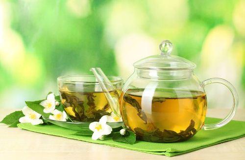 غذاهای کالری سوز,چای سبز