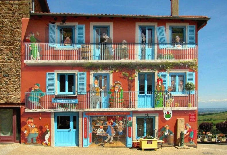 نقاشیای ساختمانی