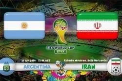 نظرات جالب مردم دنیا در مورد بازی غیرتمندانه ایران مقابل آرژانتین
