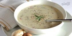 طرز تهیه سوپ قارچ ساده و خوشمزه