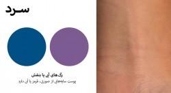 تشخیص تن رنگ پوست برای خرید لوازم آرایشی