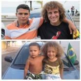 شباهت عجیب دوکودک به ستارگان برزیل +عکس
