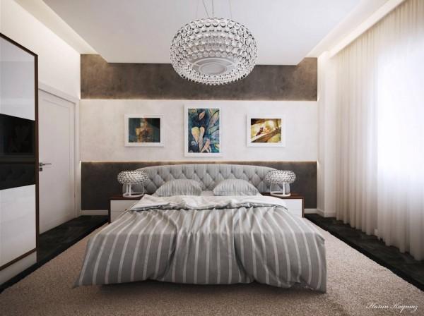 مدل لوستر اتاق خواب