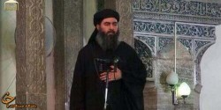 اولین عکسهای منتشر شده از ابوبکر البغدادی در کاخ خلافتش