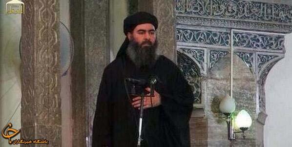 ابوبکر البغدادی سرکرده گروهک تروریستی