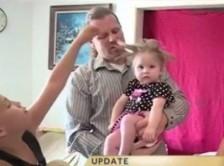 نوزادی که موهایش همیشه سیخ میماند!+عکس