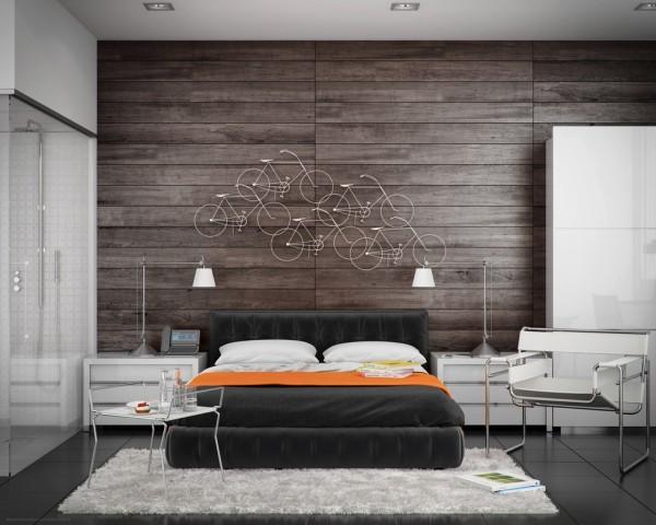 دیواره چوبی برای دکور اتاق