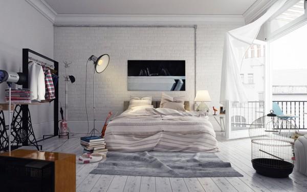 دکوراسیون اتاق خواب برای هنرمندان