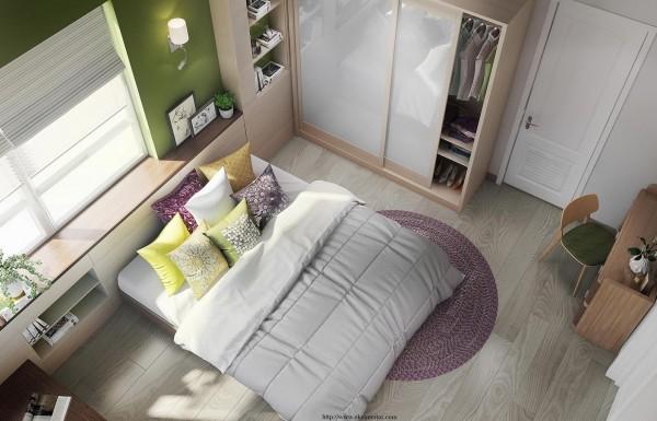Fresh-colorful-bedroom-decor