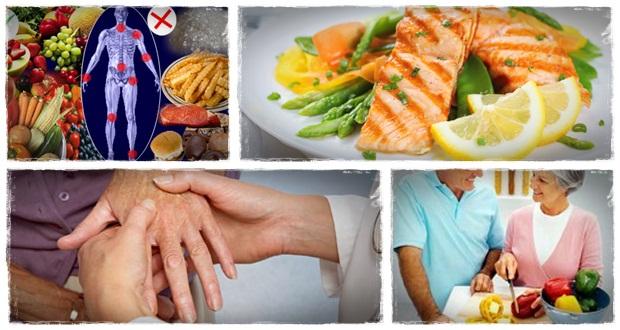 آرتریت روماتوئید و رژیم غذایی