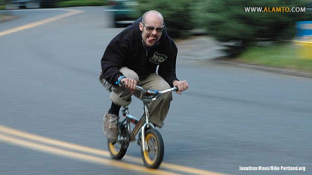 مسابقه دوچرخه سواری zoobombing