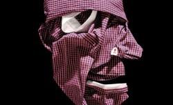 ساخت چهره انسان با لباس + عکس