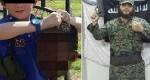 کودک 7 ساله که شریک جرم پدر داعشیاش است!+ تصاویر