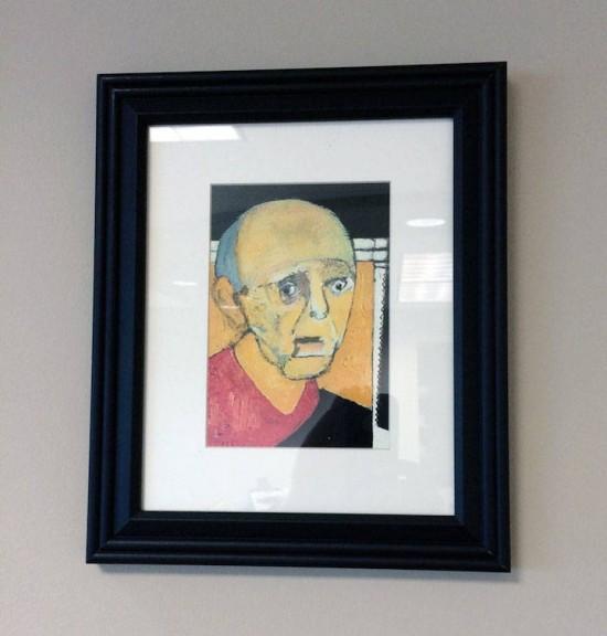نقاشی های یک آلزایمری