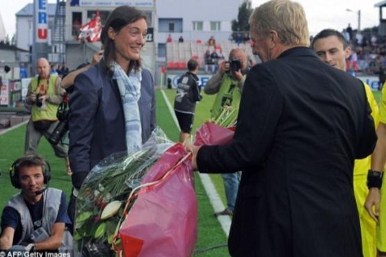 خبرسازترین زن دنیای فوتبال