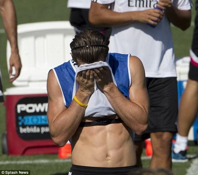 گرث بیل؛عضلهای ترین فوتبالیست دنیا +عکس