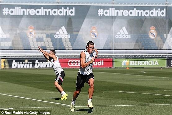 گرث بیل عضلهای ترین فوتبالیست دنیا