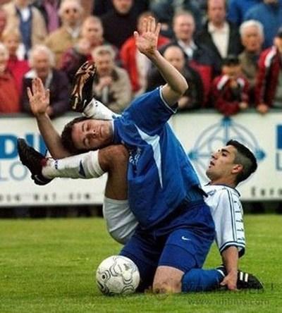 عکس خنده دار فوتبالی