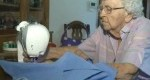 کار بی نظیر پیرزن 99 ساله برای خیریه +عکس