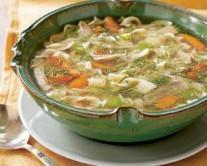 طرز تهیه سوپ رشته و مرغ