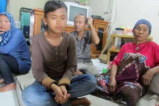 دختر اندونزیایی