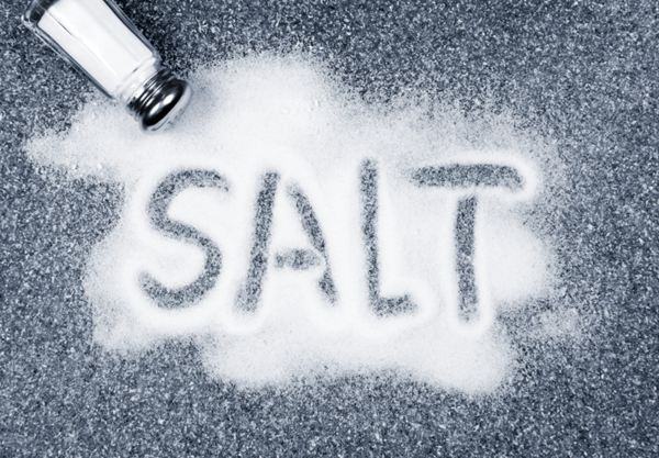 عوارض نمک