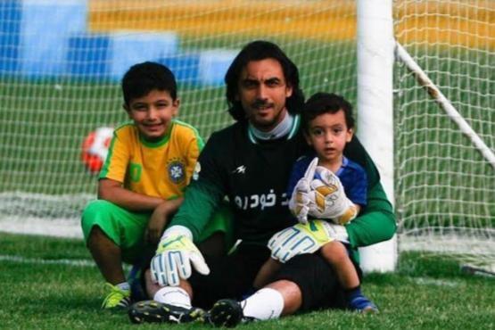فرزندان چهرههای معروف فوتبال ایران در تمرینات +عکس