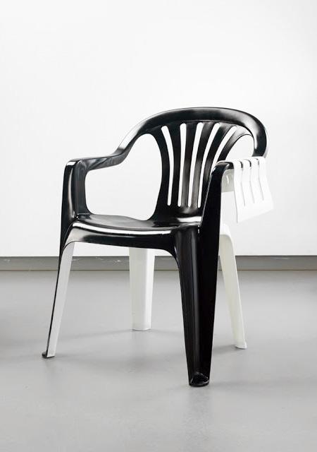 Chair Sculpture by Bert Loeschner