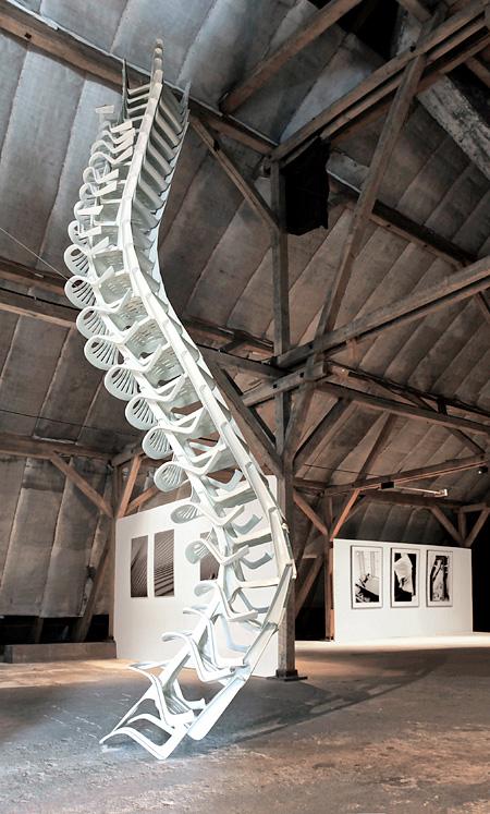 Bert Loeschner Chair Sculptures