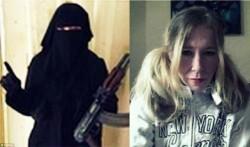 ستازه زن موسیقی به داعش پیوست+عکس