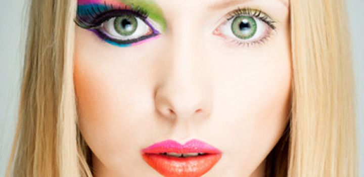 اشتباهات عادی در آرایش