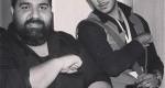 رضا صادقی و برادرش / عکس