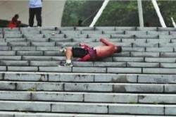 عجیبترین ورزشکار دنیا +عکس