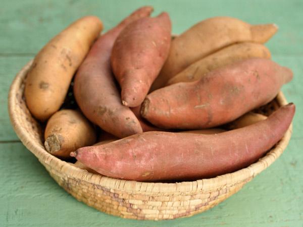 رژیم سلامت و زیبایی پوست - سیبزمینی شیرین