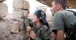 زنی که نظامیان کوبانی را فرماندهی میکند + عکس