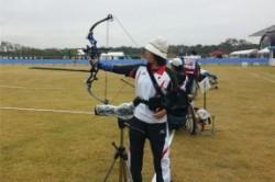 تیراندازی ورزشکار ژاپنی با دهان + عکس