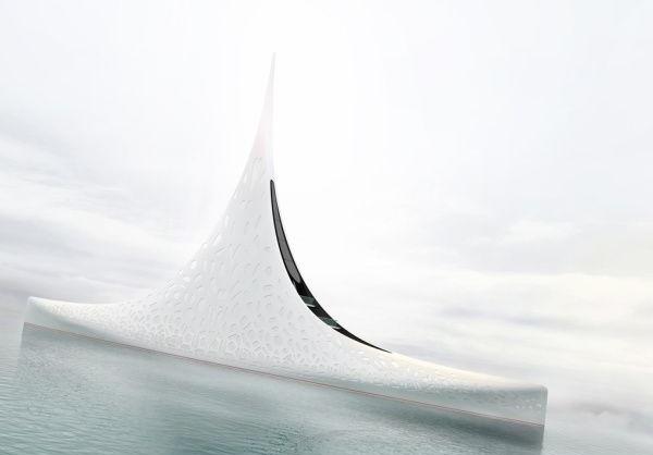 بزرگترین قایق جهان با هشت طبقه