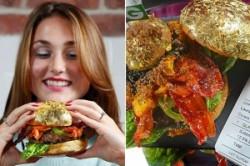 گرانترین همبرگر دنیا +عکس