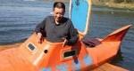 کشاورز چینی با دست خالی زیردریایی ساخت+عکس