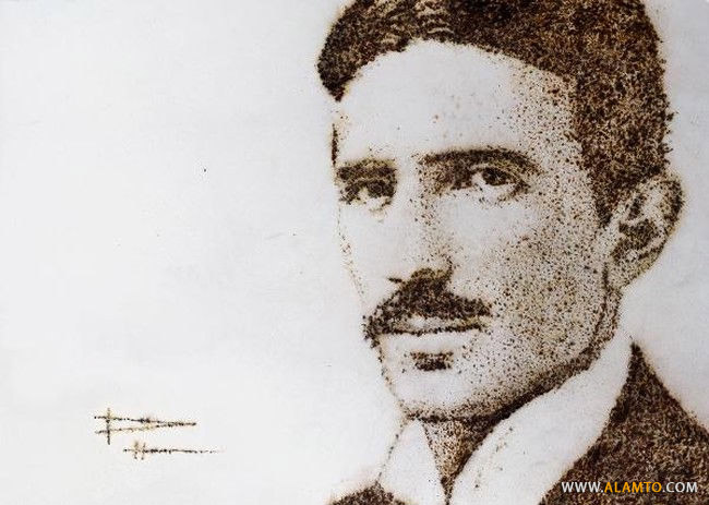 multimedia-artist-creates-portrait-of-nikola-tesla-using-electricity