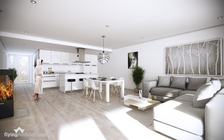 دکوراسیون سفید برای منازل مدرن