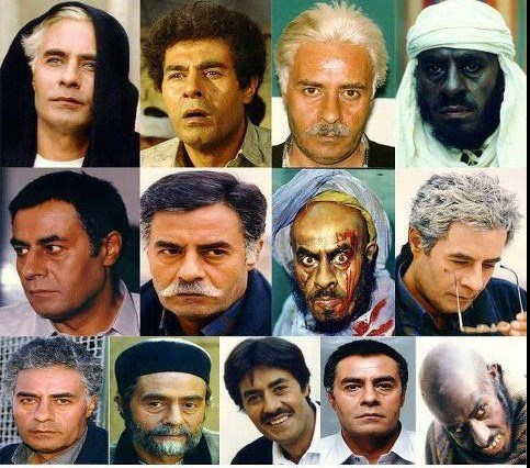 گریمای سنگین سینمای ایران